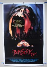 Berserker (1987) Horror Poster Greg Dawson - US One Sheet